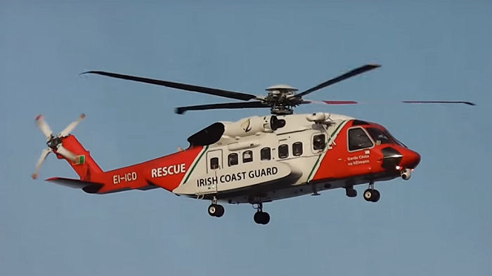 CHC Irish Search-and-Rescue (SAR) operation, which provides services on behalf of the Irish Coastguard, has achieved 10,000 Sikorsky S-92 flight hours.
