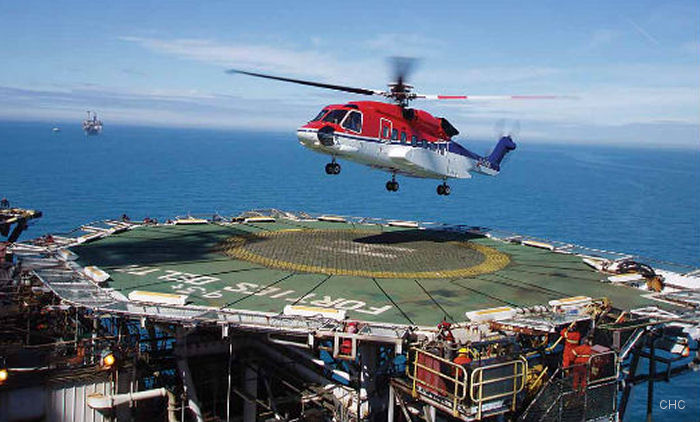 CHC S-92 from Kristiansund in Norway will suppport Wintershall Norge AS drilling program at the Maria Field from March 2017