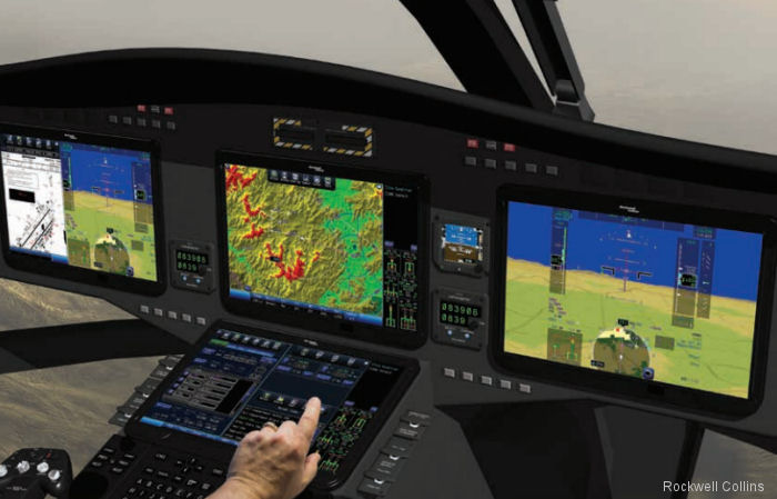 Rockwell Collins debuts in commercial helicopter simulation and training with delivery of H125, H145, AW169 and AW189 simulators to Finland's Coptersafety OY in late 2017