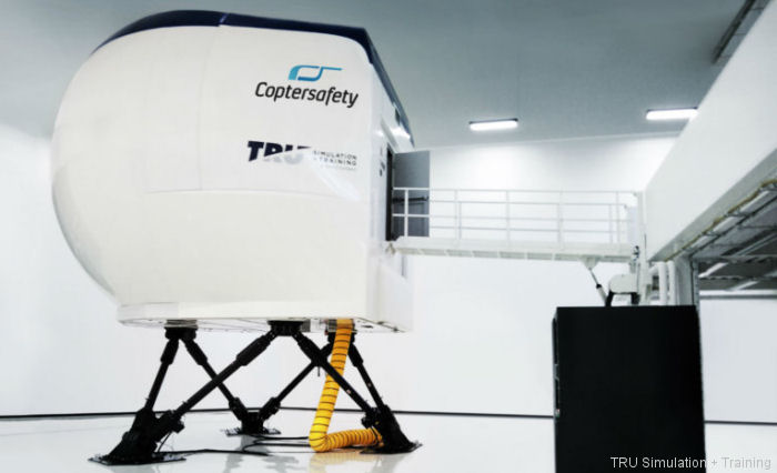 Textron's TRU Simulation + Training Inc to deliver 5 Level D full-flight simulators (FFS) for the Airbus H125, H145 and Leonardo AW139, AW169 and AW189 helicopters to Coptersafety in Helsinki
