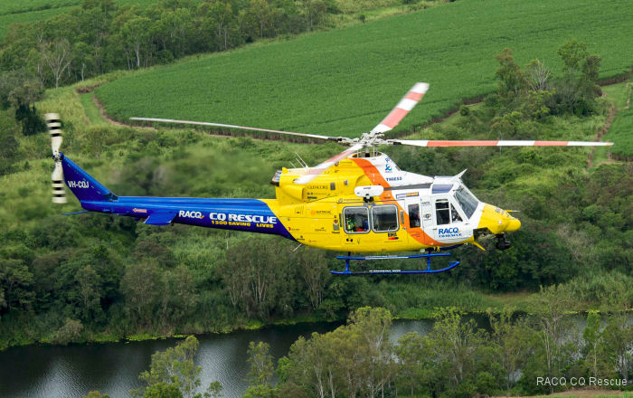Australia s RACQ CQ Rescue completed 51 tasks last month and accumulated 90.58 flying hours