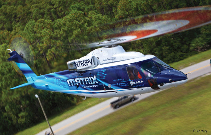 Sikorsky demonstrated a 30-mile autonomous flight with a S-76 to complete Phase 1 of Defense Advanced Research Projects Agency (DARPA) s Aircrew Labor In-Cockpit Automation System (ALIAS) program