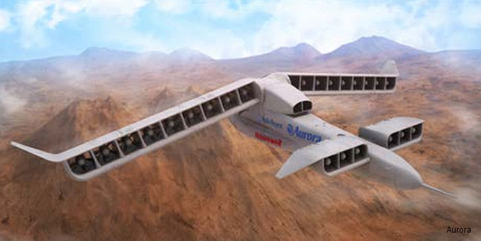Aurora's LightningStrike design for DARPA's Vertical Takeoff and Landing
