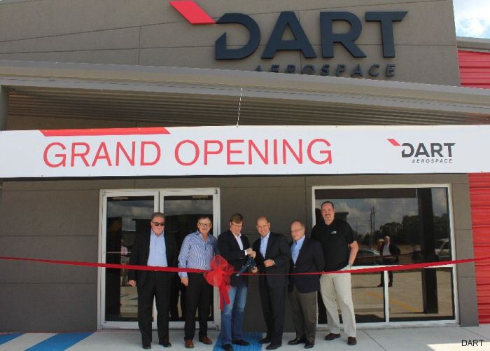 DART Aerospace celabrated grand opening of a new purpose built Repair & Overhaul (R&O) facility that represents a 50% increase in floor space at Lousiana to serve customers in the Gulf of Mexico region