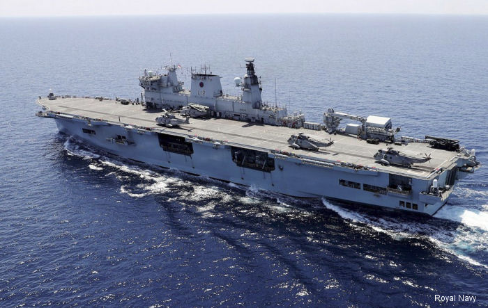 HMS Ocean leads international submarine hunting exercise