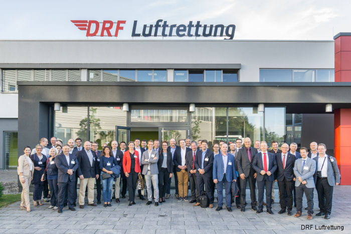 More than 50 experts from Europe discussed the situation and  development of air rescue June 15-16 at DRF Luftrettung operation center in Baden-Baden, Germany