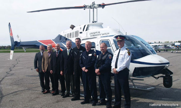 Durham Regional Police Service aviation unit celebrated the 10,000 hours of flight milestone