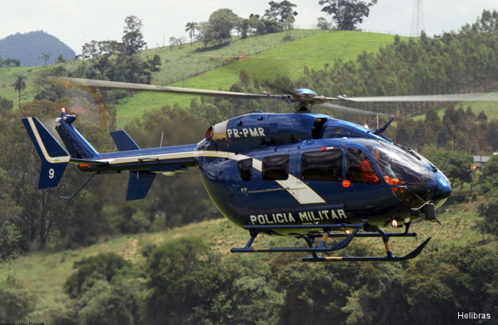 To be used in the Olympics Games, first of two EC145 helicopters equipped with the most advanced security system was delivered to the Rio de Janeiro police. The second one scheduled for the end of July.