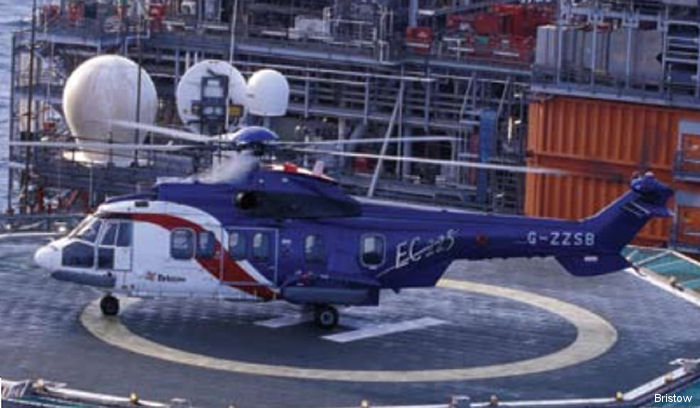 Bristow Group Inc Form 8-K to U.S. Securities and Exchange Commission (SEC) regarding the EC225LP helicopter operations following the accident in Norway