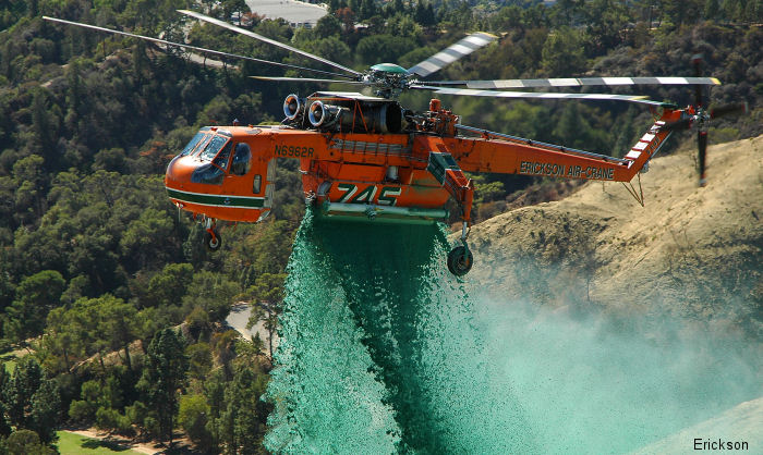 Erickson through Kestrel Aviation to provided a third S-64E heli-tanker to support firefighting efforts in the State of Victoria, bringint to Six the number aircranes operating in Australia.
