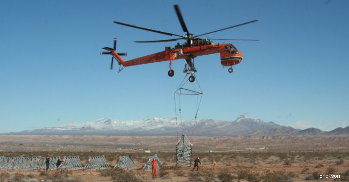 Erickson is partnering with Sterlite Grid to install nearly 160 power transmission towers in the Pir Panjal mountain range in northern India using S-64 Aircrane