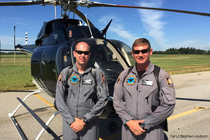 Georgia State Patrol Bell 407 Helicopter found the collided South Carolina Air National Guard F-16 in forested areas of Jefferson County