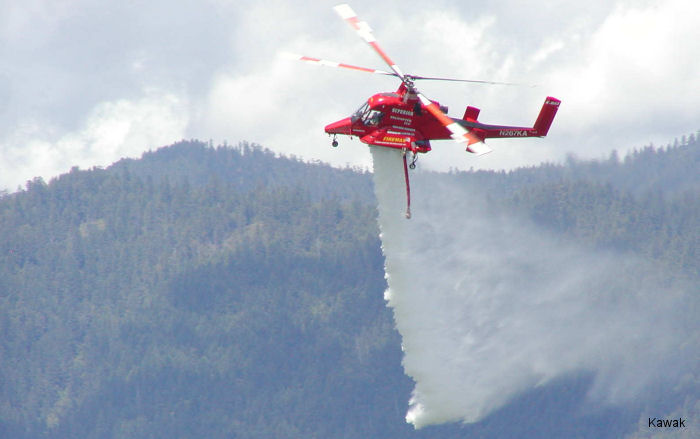 Firefighting Market Strong For K-MAX Helicopters. Kaman Explores Latin American Opportunities During FIDAE