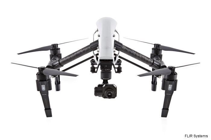 DJI Innovations, the market leader in easy-to-fly drones, with a FLIR Systems thermal camera