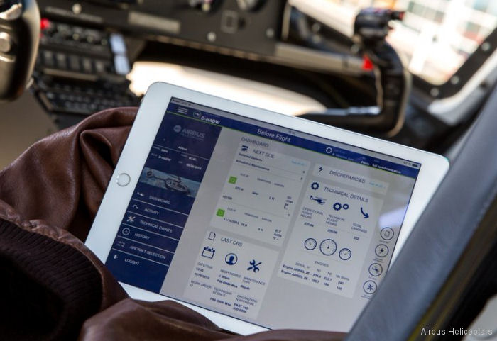 Airbus Helicopters' new Fleet Keeper App approved by the French Civil Aviation Authority (DGAC) to replace the paper technical logbook within Airbus Helicopters' airworthiness organization