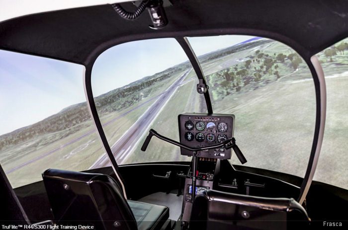 China Flying Dragon General Aviation Co ordered two Frasca Flight Training Devices (FTDs) simulators convertible between the Schweizer S300 and the Robinson R44 helicopters