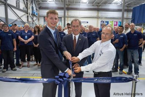 Airbus Helicopters Canada Expands Facility as part of Support and Services Growth