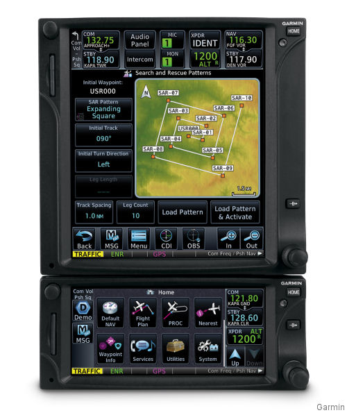 New Touchscreen Garmin for Bell 206/407, Airbus AS350B2/B3, EC130B4/T2 and MD 369E/F/FF