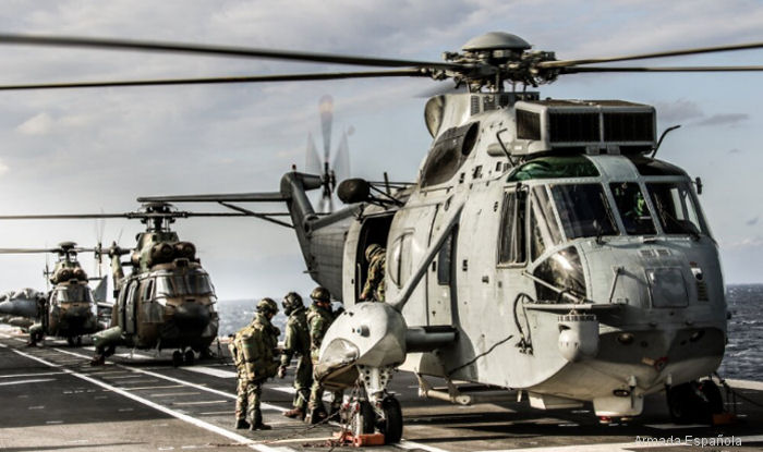 1,200 Spanish marines, elements from the Spanish Army and Air Force along the Portuguese Navy taking part of  amphibious exercise GRUFLEX 61 in Cadiz and the Balearic Islands