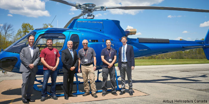 Canadian operator Ascent Helicopters from Fernie, British Columbia expands its fleet with a new Airbus Helicopters H125 to be used throughout the Western region