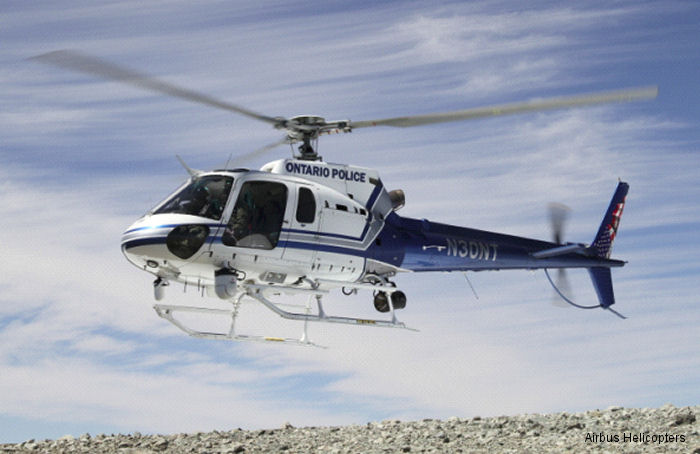 Airbus Helicopters USA recently delivered 6 new H125 / AS350B3e AStars to four California law enforcement agencies