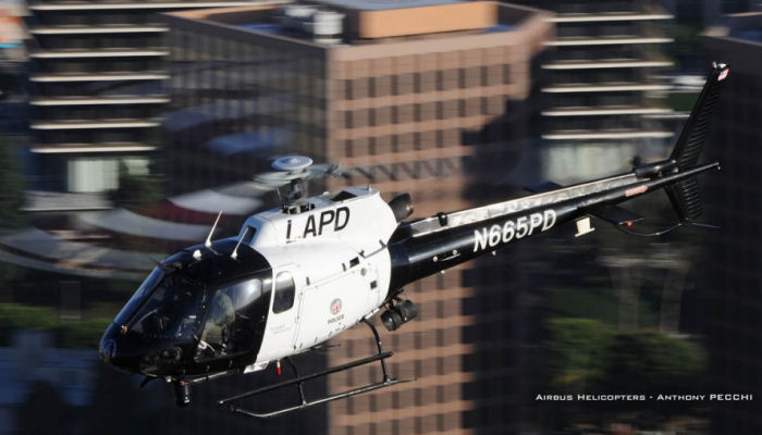 Airbus Helicopters H125 / AS350 Astar in the Los Angeles Police Department (LAPD)