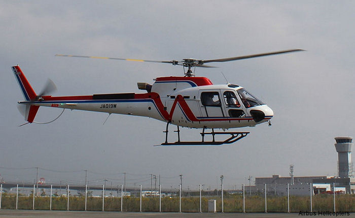 Brand-new H125 / AS350B3e to Nishi Nippon Airlines of Japan