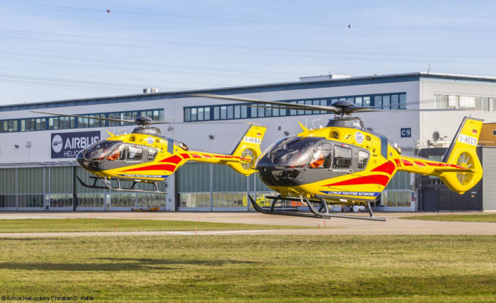 Poland's public air medical rescue operator LPR (SP ZOZ Lotnicze Pogotowie Ratunkowe)  received four new H135/EC135P3 for Emergency Medical Services (HEMS) operations. LPR now has 27 EC135/H135