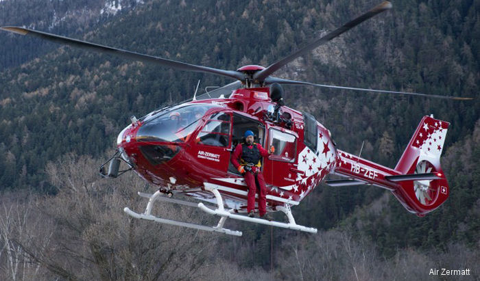 Swiss operator Air Zermatt is first to retrofit their EC135T2 into a T3 type using own technicians and kit from Airbus Helicopter Germany opening the door to other operator-led upgrades.