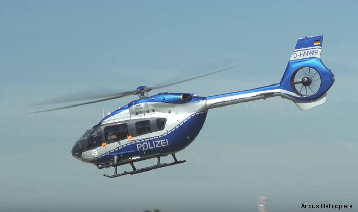 German state of Nordrhein-Westfalen (NRW) is the second customer to receive the H145 / EC145T2 in police configuration