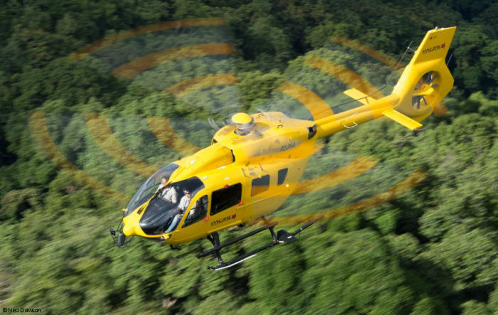 Marking a milestone for both Pacific Helicopters and Papua New Guinea aviation, the company has taken delivery of the first of three H145 / EC145T2 leased from Waypoint Leasing