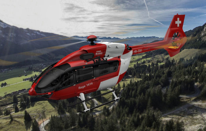 Swiss Air-Rescue Rega signed for 6 new H-145 / EC145T2 to be delivered in 2018 to replace the current EC145
