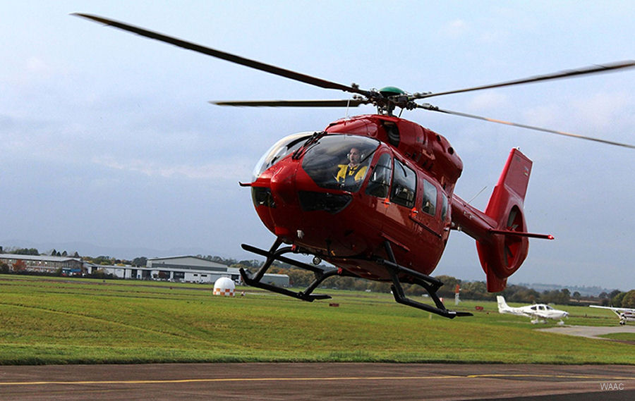 Three brand-new H145/EC145T2 will be operate by Babcock Mission Critical Services Onshore on behalf the Wales Air Ambulance from based in Welshpool, Caernarfon and its new headquarters in Llanelli