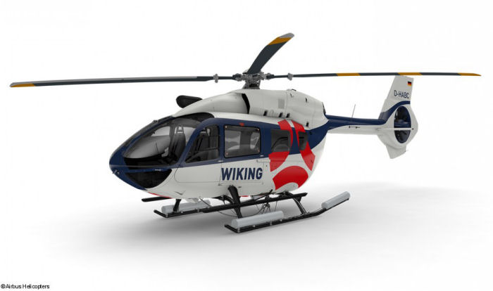 Wiking Helikopter Service GmbH from Germany orders their first Airbus Helicopters aircraft with 2 H145 for offshore wind farms transport in the North Sea. Delivery scheduled for end of the year.