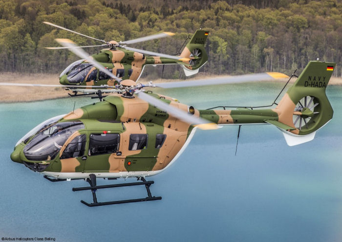 Airbus Helicopters handed over the first two of 5 H145M / EC645T2 helicopters to the Royal Thai Navy at Donauwörth, Germany. They will entry into service in Thailand at the end of 2016.
