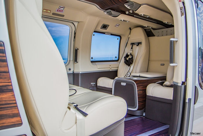Mecaer Aviation Group  (MAG) validated its EC145T2 / H145 Mercedes-Benz interior with both the FAA and Brazil's ANAC