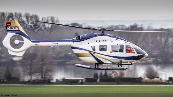 Körfez Aviation from Turkey received the first of two H145 Mercedes Benz Style. Announced last October and with 5 in order, this new version was developed from the previous EC145MB