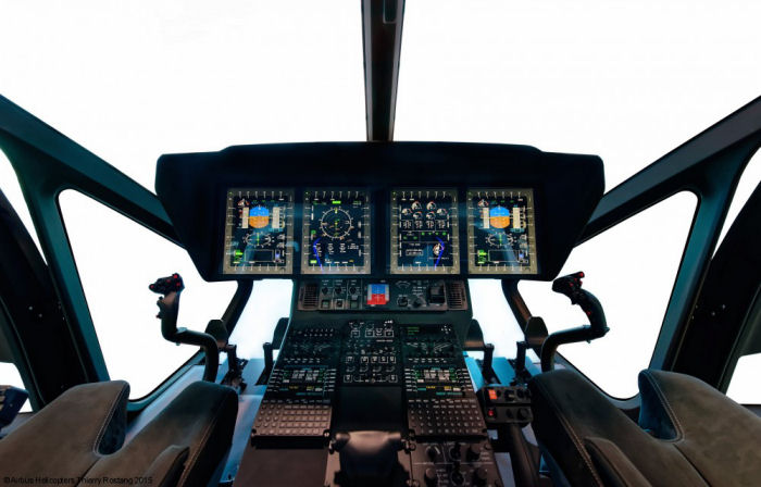 The first full flight simulator (FFS) for the H160 helicopter will be installed at the Helisim (Airbus, Thales and DCI) training Academy at Marignane, France