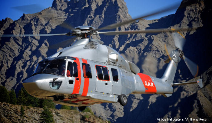 Trakka Systems announce that Airbus Helicopters have selected the TrakkaBeam A800 tactical searchlight for the new 7 H175 acquired by Hong Kong's Government Flying Services (GFS)