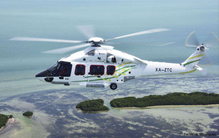 First H175 in the Americas was delivered to Mexican company Transportes Aéreos Pegaso for offshore operations in the Gulf of Mexico. A second helicopter will be delivered in 2017