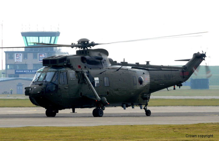 Royal Navy Retired Sea King HC.4