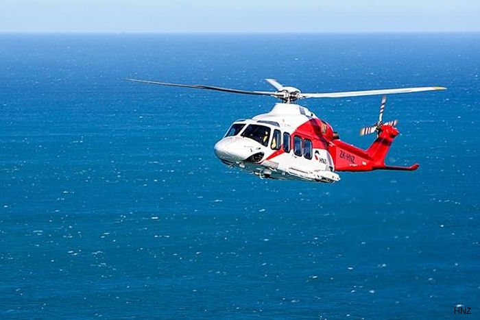 HNZ New Zealand Ltd renewed contract from New Plymouth to various offshore petroleum platforms using two of the current AgustaWestland AW139. The third helicopter will be redeployed to other country