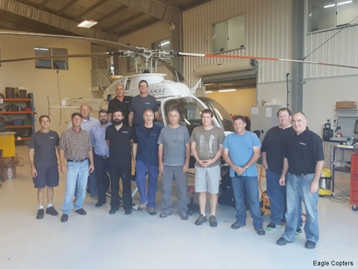 Engineers and trainers from the HTS900 Course - Left to Right: Lew Venter (ECM), Jim Ebken (Honeywell), Darryl Christensen (Intermountain Turbine), Scott Hug (CASA), Doug Banks (ECM), Mark Anning (ECM), Dean Beale (PNG), Jim Millard (PNG), Karl Wimmer (PNG), Jeff Wright (Honeywell), Roger Gibbs (Honeywell) and Top Row  Grant Boyter (CEO, ECA), Rohan Schallmeiner (VP Maintenance, ECA)