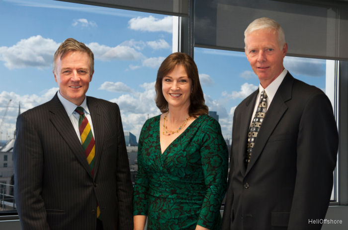 Gordon Ballard, Gretchen Haskins, Steve Hawkes of BP and Chair of IOGP's Aviation Sub-Committee