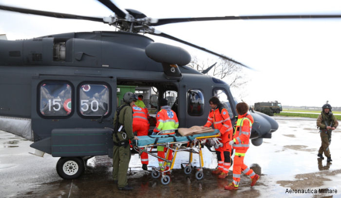 In the first five months of 2016 the Italian Air Force has already conducted 113 emergency medical transport flights