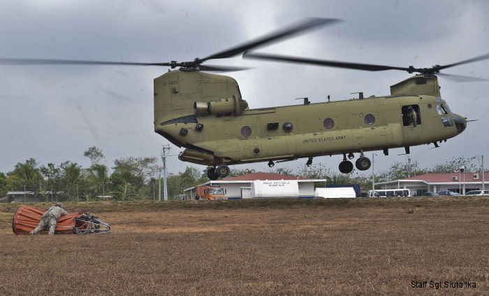 U.S. Joint Task Force-Bravo, based in Honduras, partnered with Panamanian Public Forces to contain multiple life-threatening wildfires at Darien province in Panama