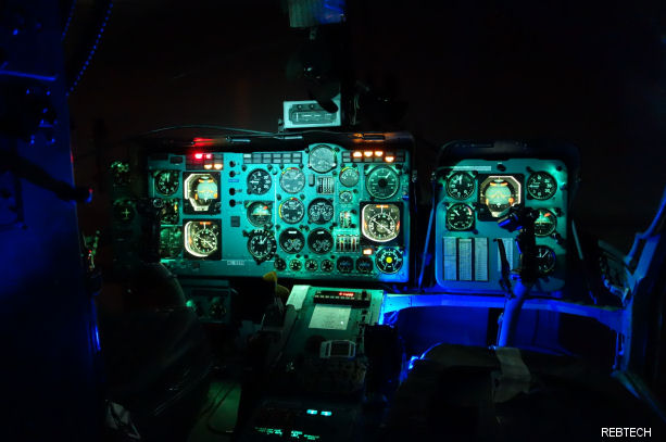 Texas-based REBTECH announced approval by the Korean Office of Civil Aviation (KOCA) for a night vision (NVG) modification to Russian made KA-32 helicopter to perform night fire suppression operations