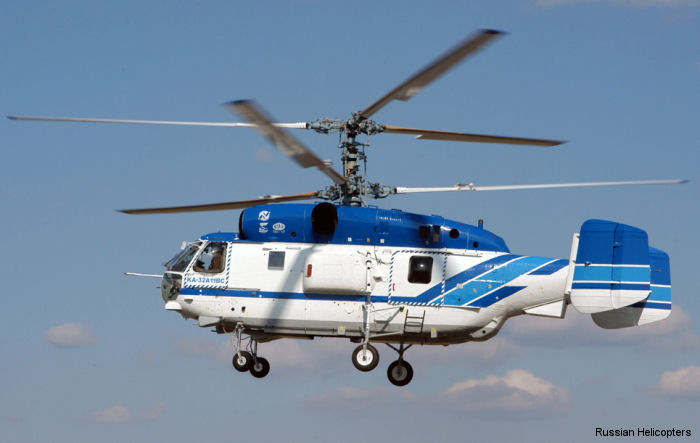 Russian Helicopters signed contracts to supply seven Ka-32A11BC and two Mi-171 helicopters to China.
