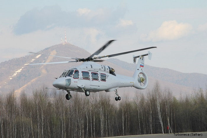 Ka-62 completes takeoff with Ardiden 3G