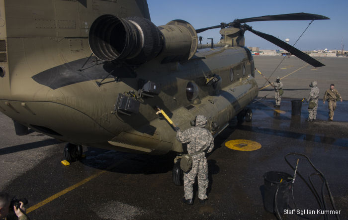 California Army National Guard 40th Combat Aviation Brigade and Army Reserve 366th Chemical Company completed a Chemical, Biological, Radiological and Nuclear drill at Camp Arifjan, Kuwait